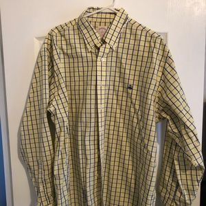Brooks Brothers button down yellow